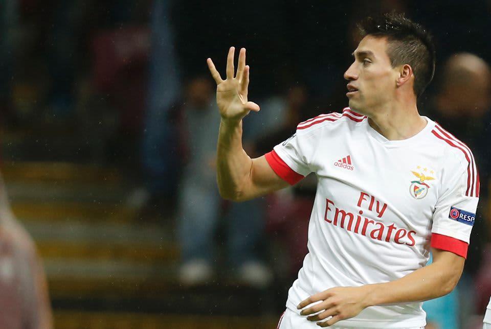 Nicolas Gaitan  Benfica,