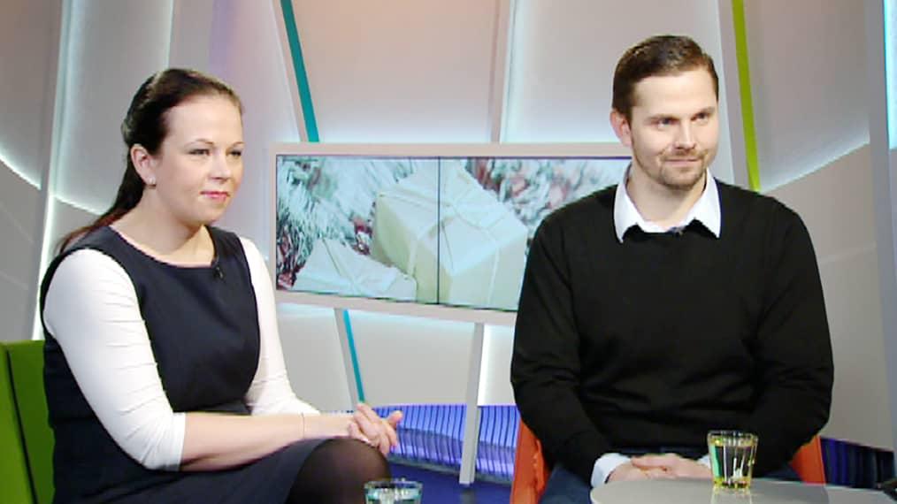 Minna Eonen ja Toni Stigzelius