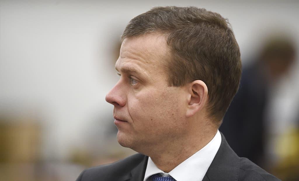 Kokoomuksen sisäministeri Petteri Orpo.