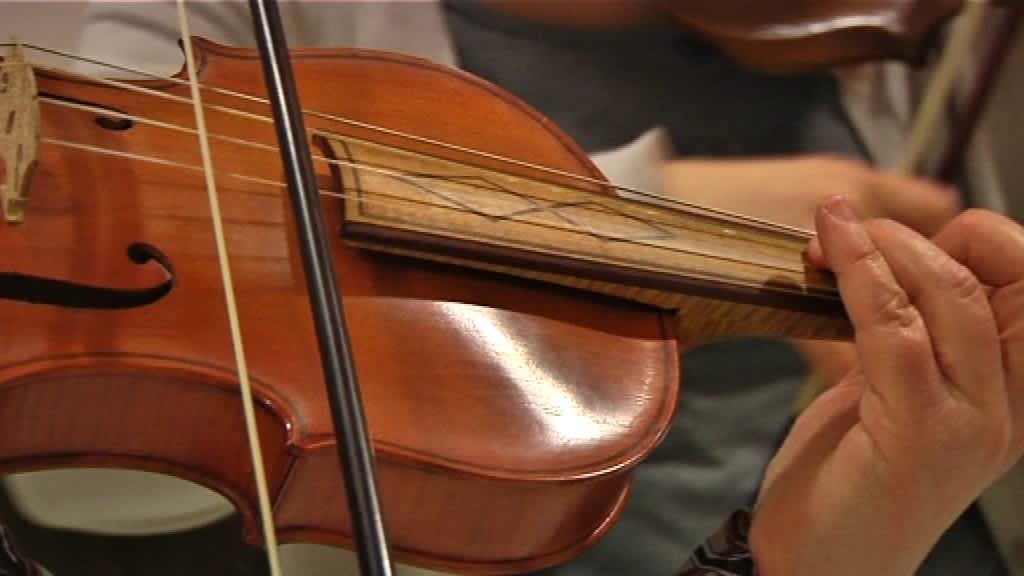 The Seasons Ensemble harjoittelee Händelin Concerto grossoa B-duuri