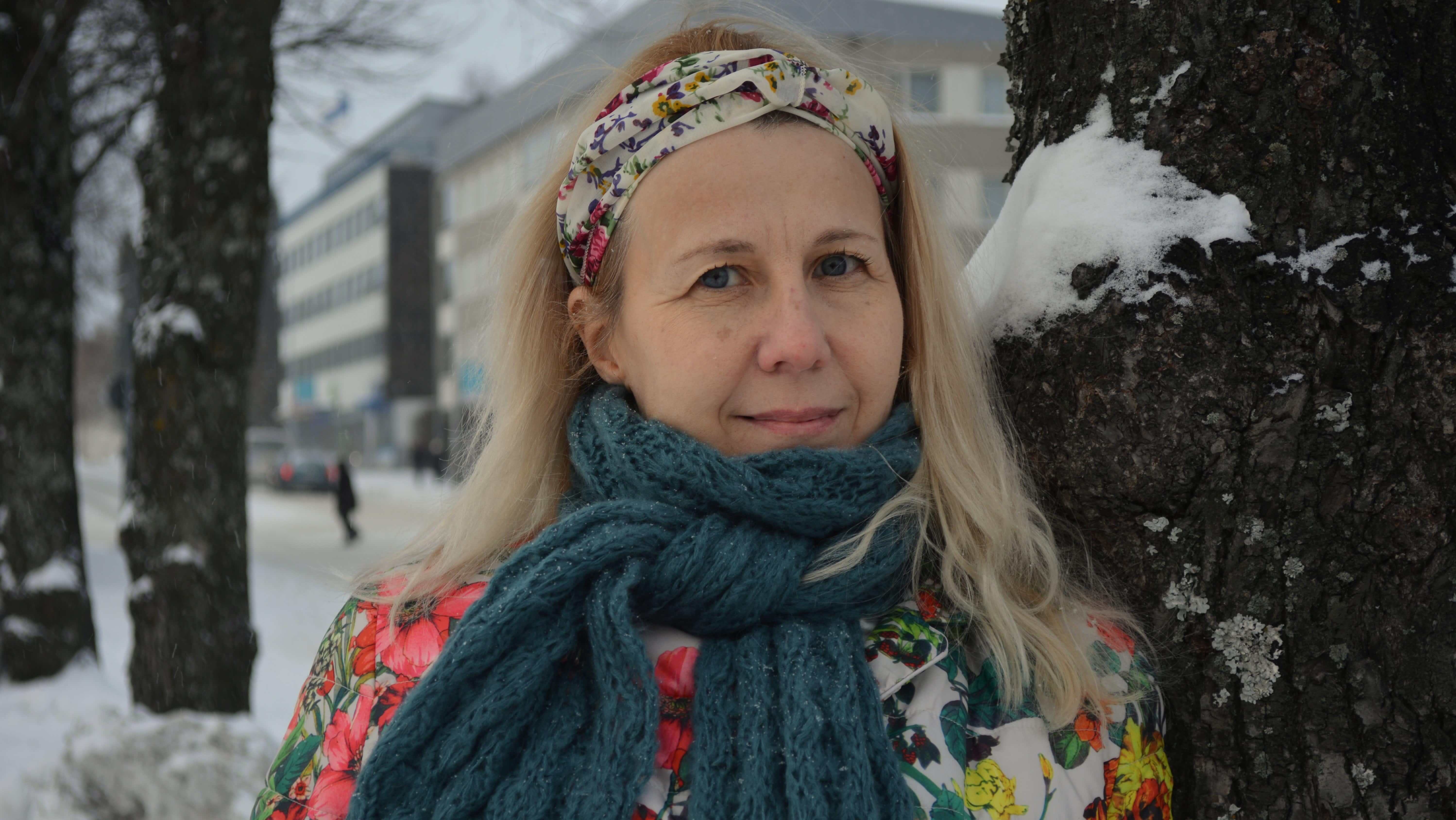 Kirjailija Mari Mörö