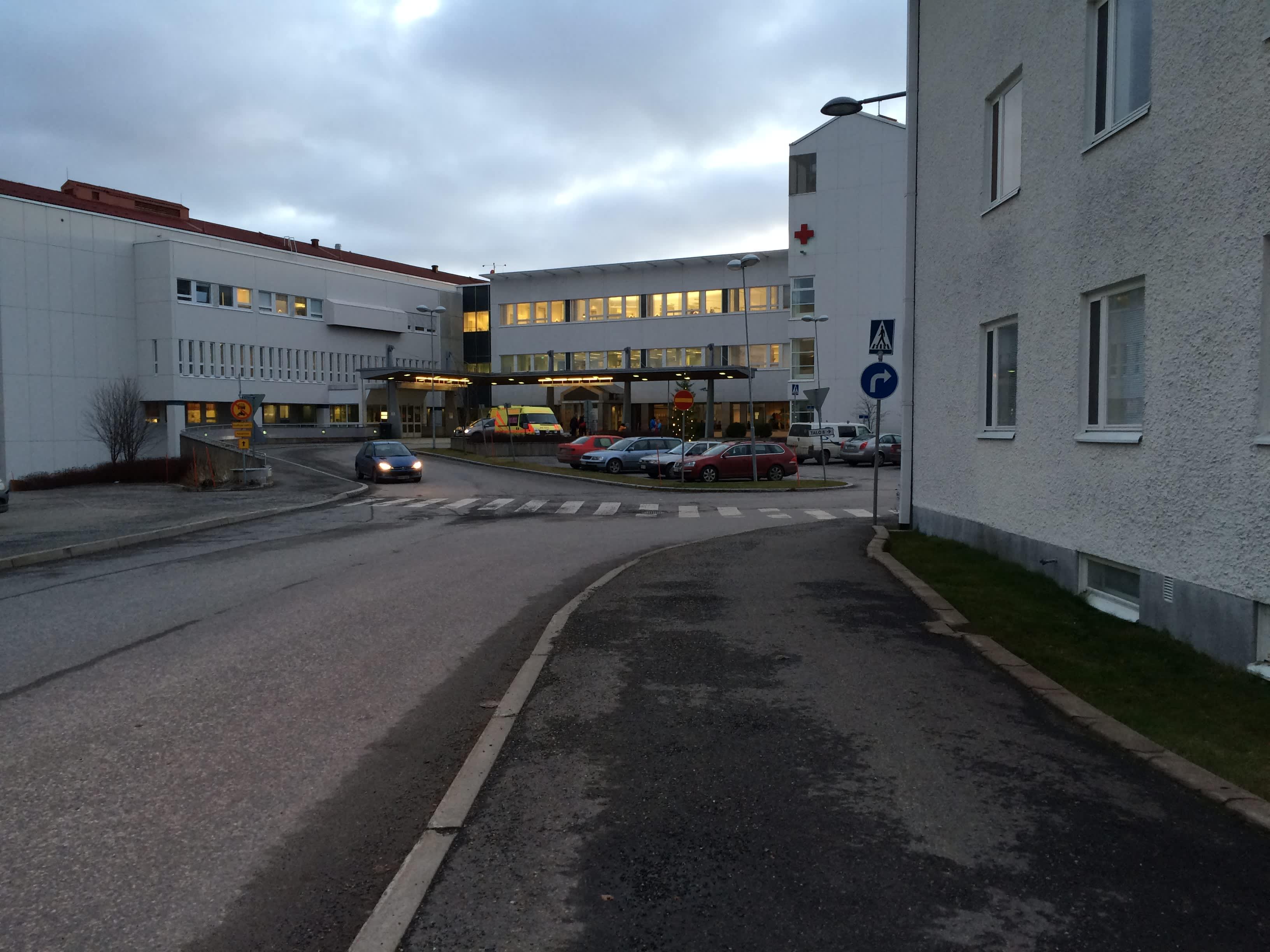 Pohjois-Karjalan keskussairaalan päivystysvastaanotto.