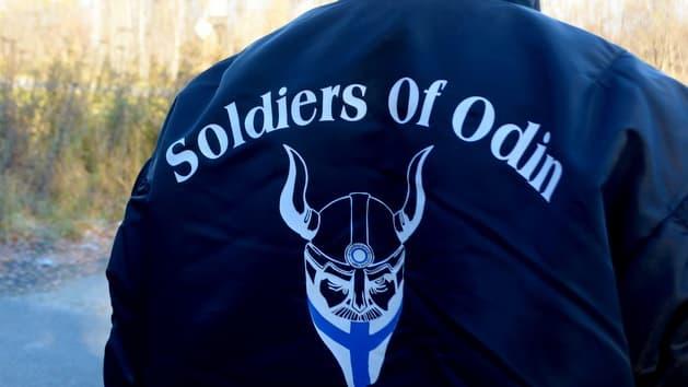 Soldiers of Odin -takin selkämys.