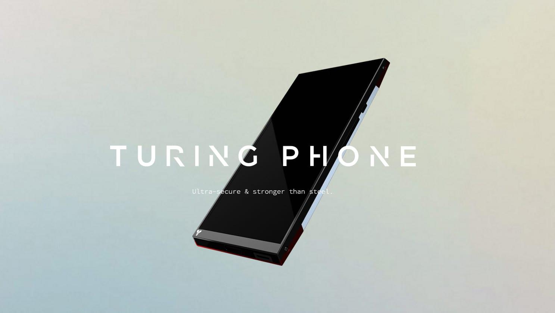Kuvakaappaua Turing Phonen kotisivuilta.