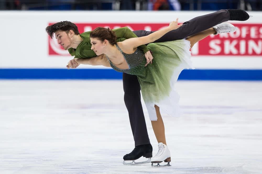 Jussiville Partanen ja Cecilia Törn