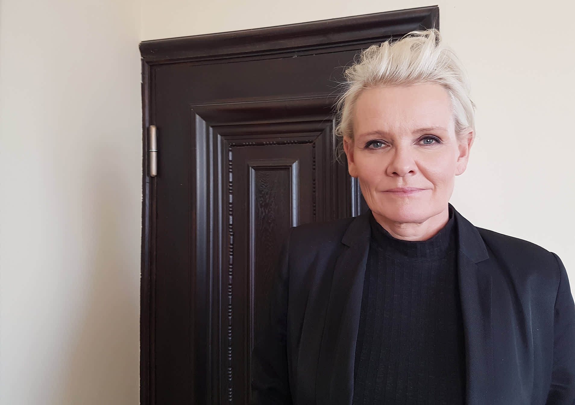 Muusikko Eva Dahlgren.