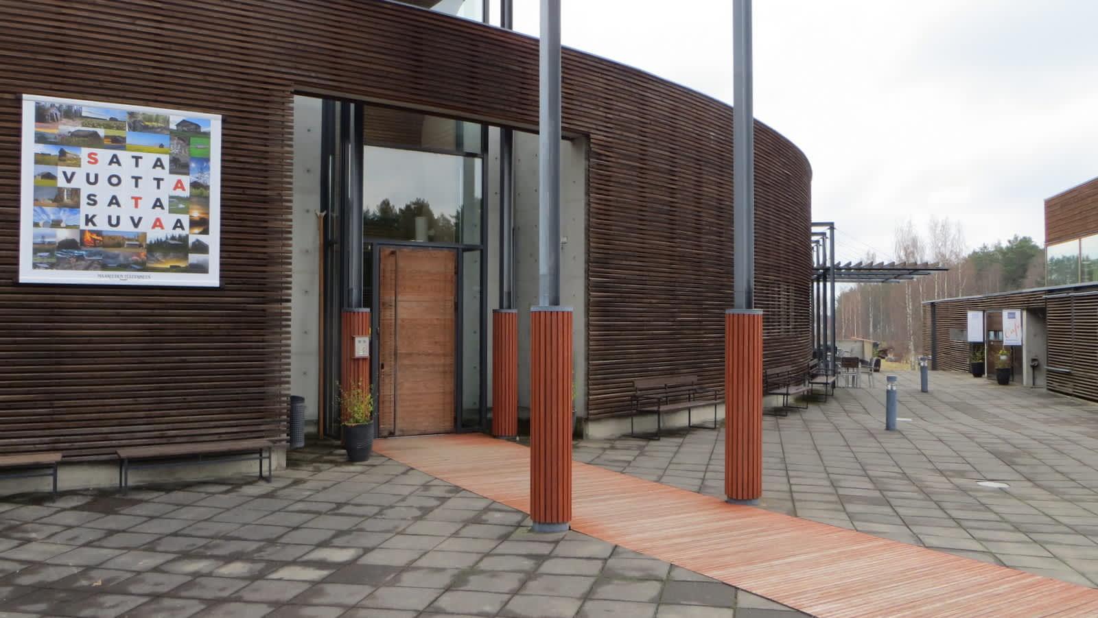 Lusto - Suomen Metsämuseo, sisäänkäynti