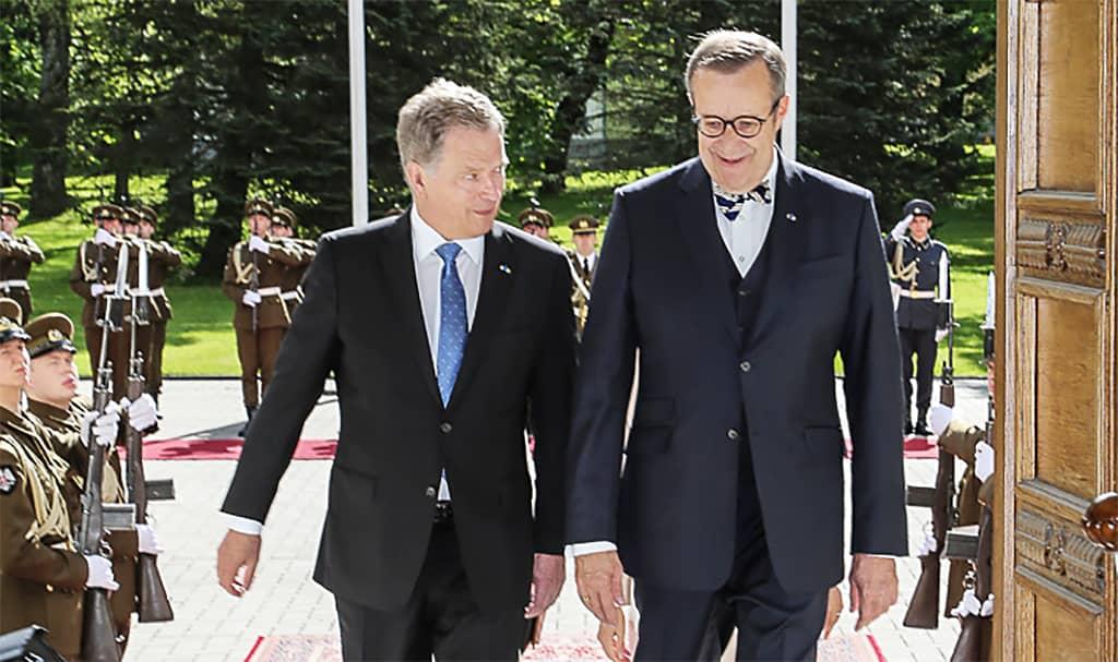 Sauli Niinistö ja Toomas Hendrik Ilves