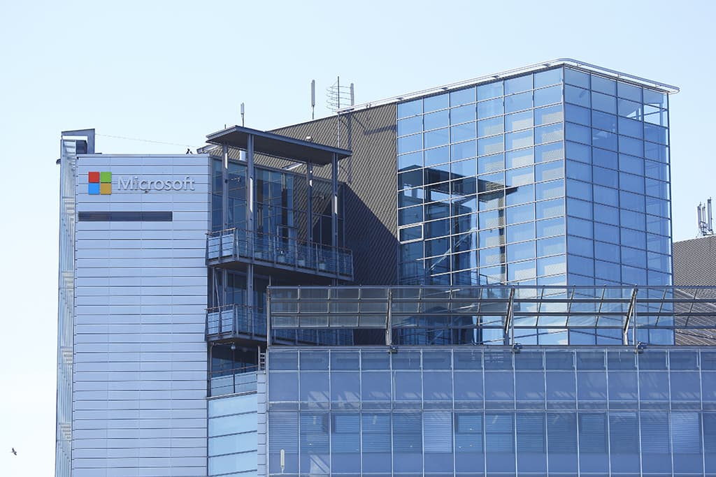 Microsoftin konttori Espoossa.