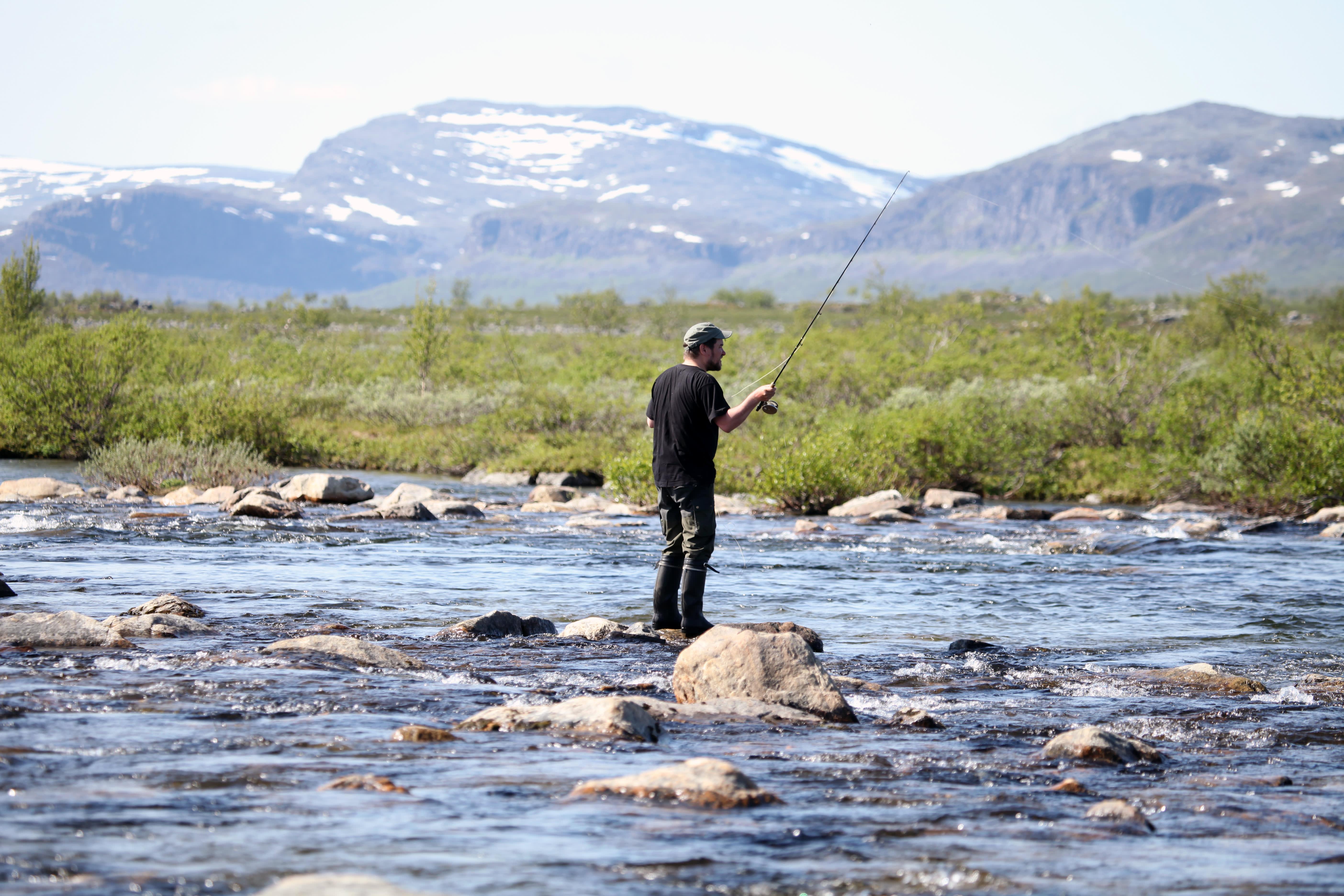 Lätäseno Enontekiö kalastus