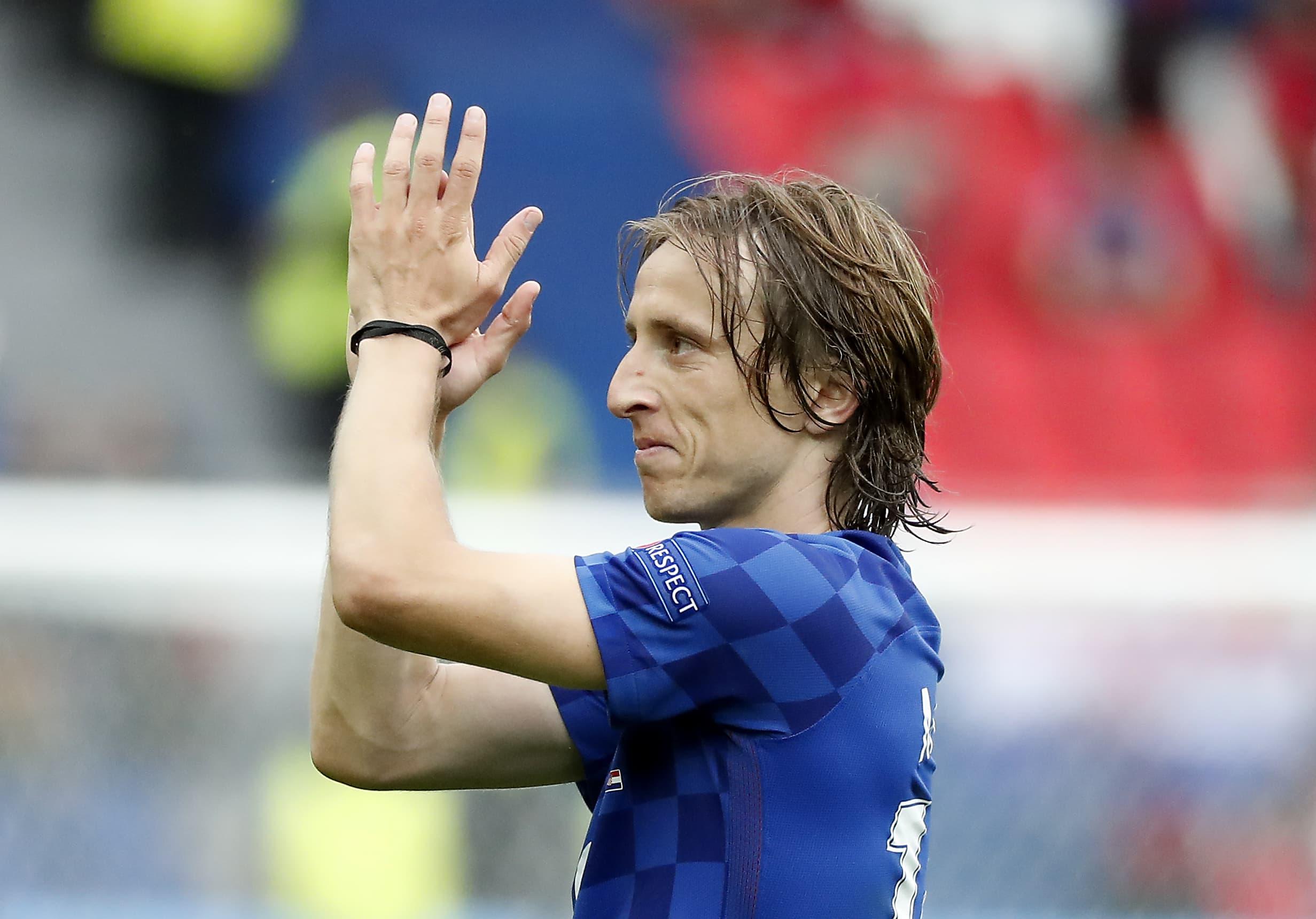 Luka Modric Kroatia EURO 2016