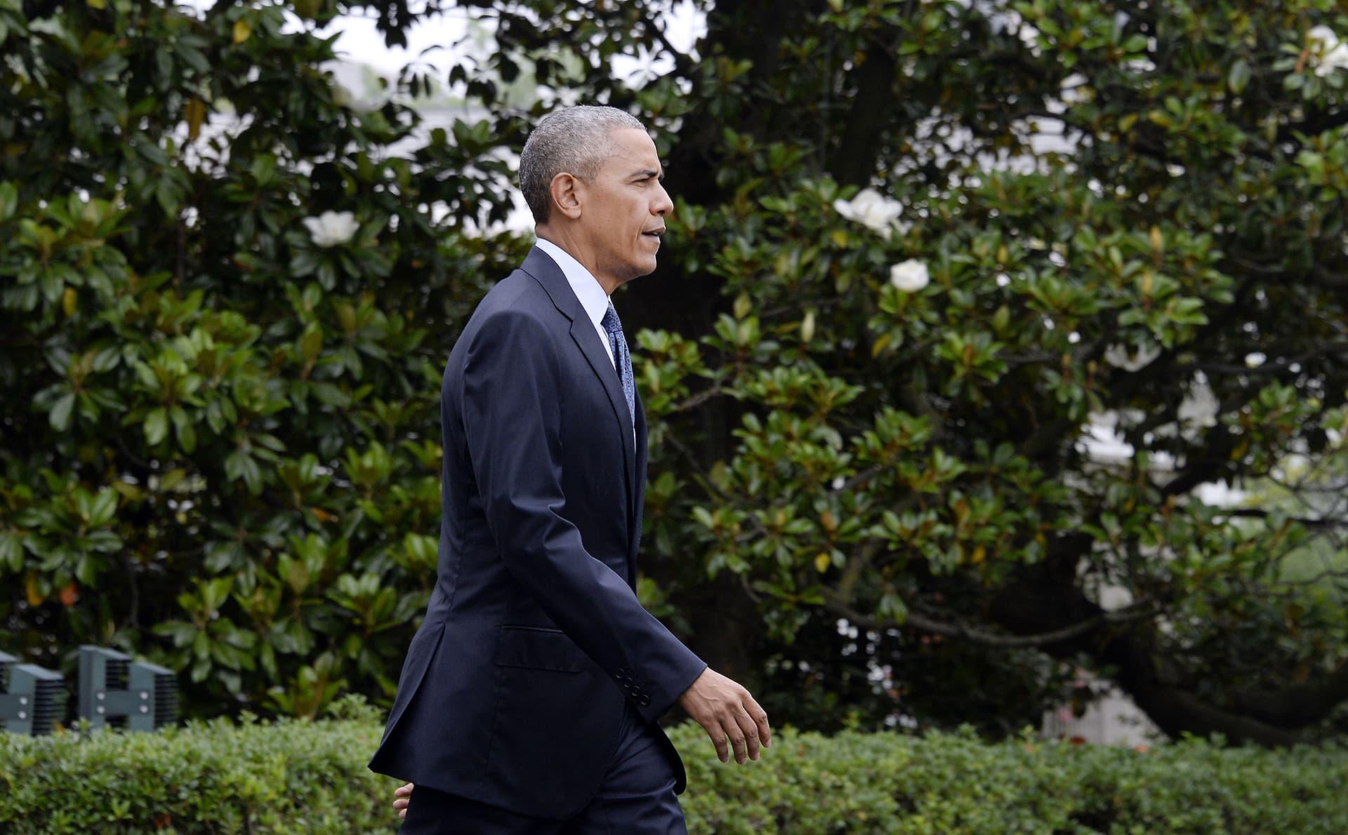 Barack Obama kuvattuna 16. kesäkuuta 2016.