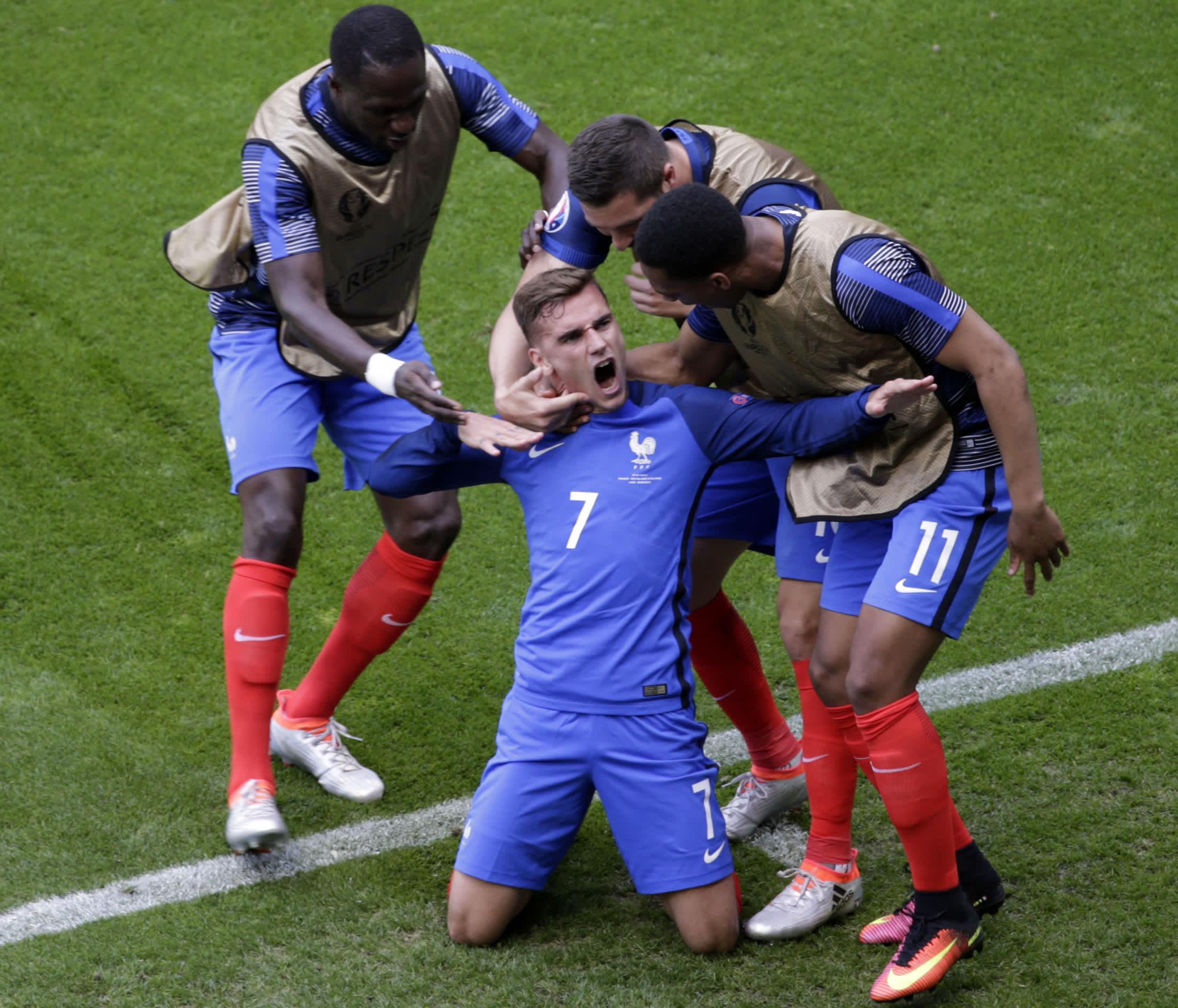 Antoine Griezmann nousi kisaisäntä Ranskan sankariksi.