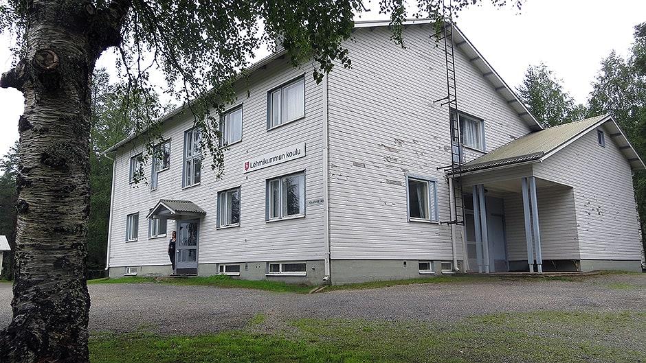 Lehmikummun koulu Tervolassa