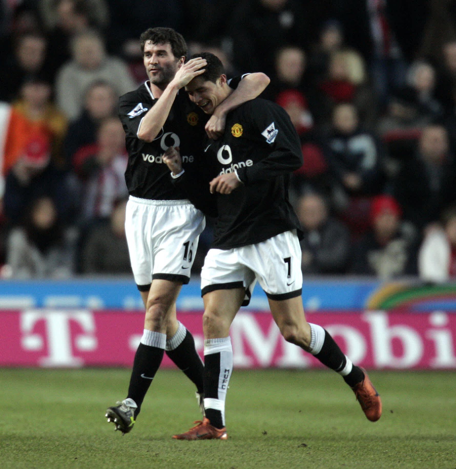 Roy Keane ja Cristiano Ronaldo