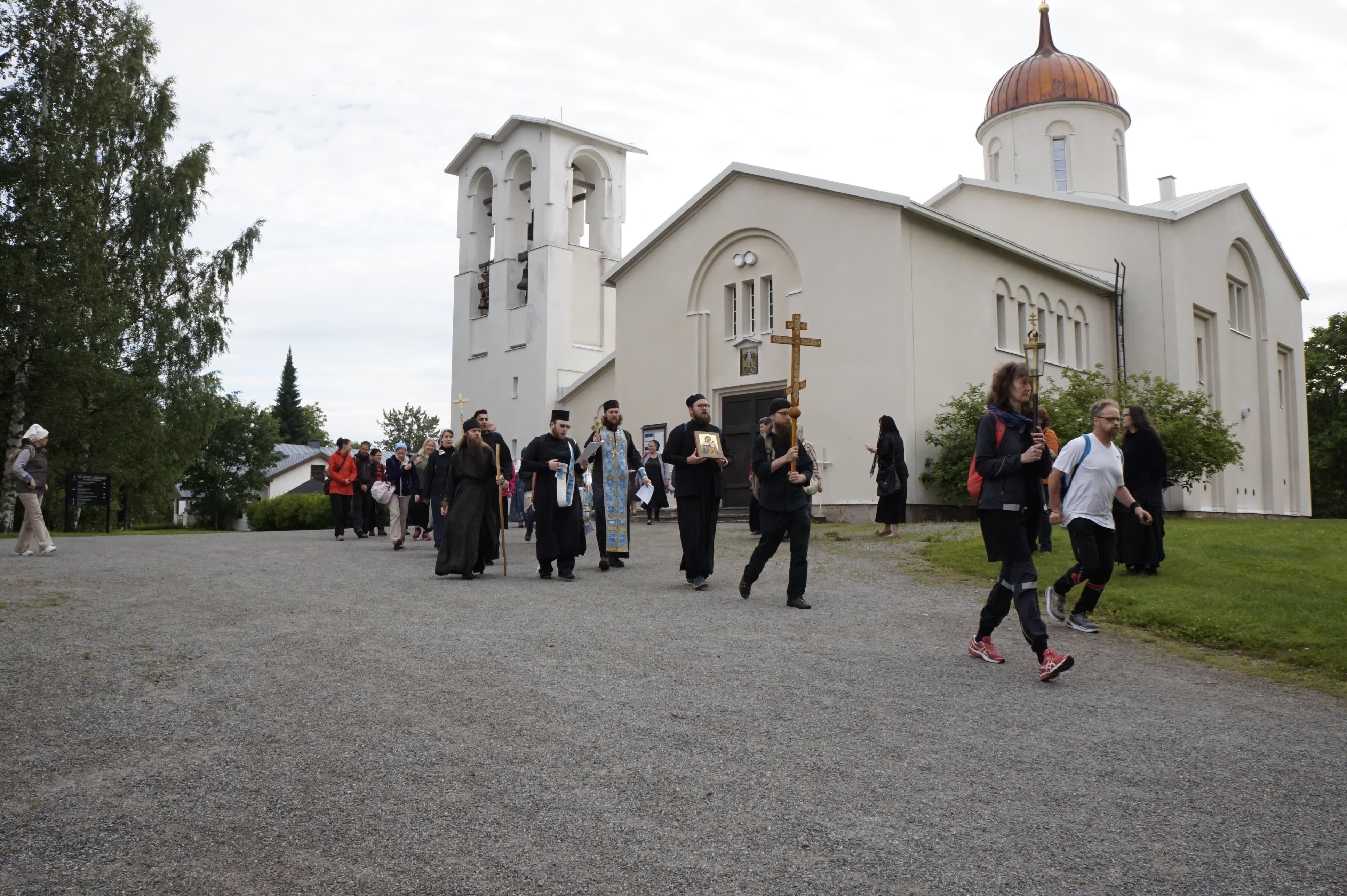 Valamon luostarin ristisaatto