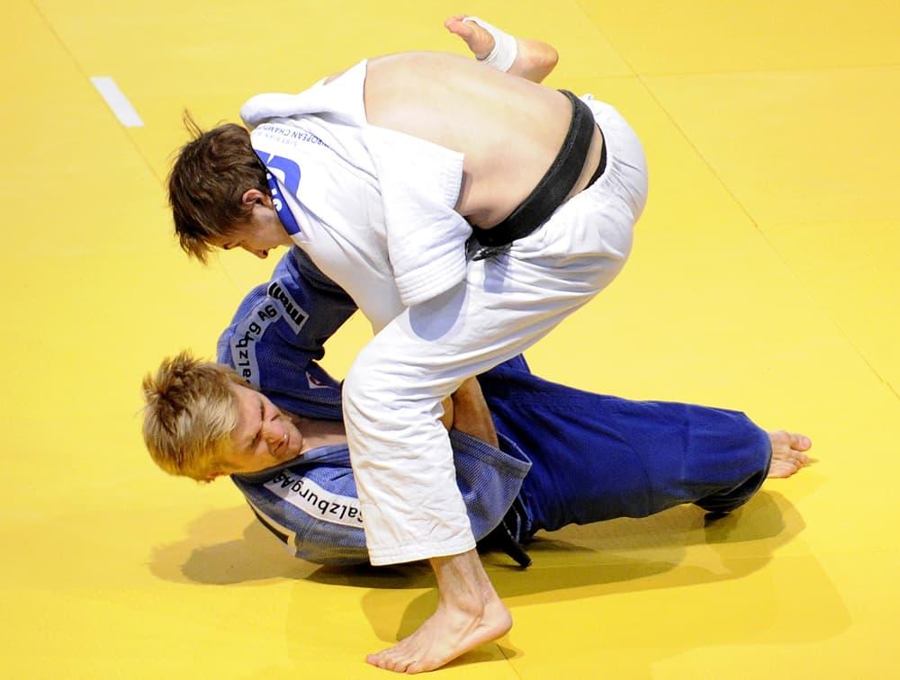 Juho Reinvall EM-kisoissa Wienissä 2010.