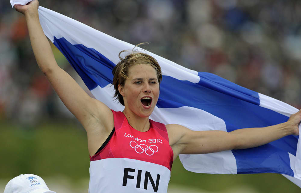 Tuuli Petäjä-Sirén Lontoon olympialaisissa 2012.