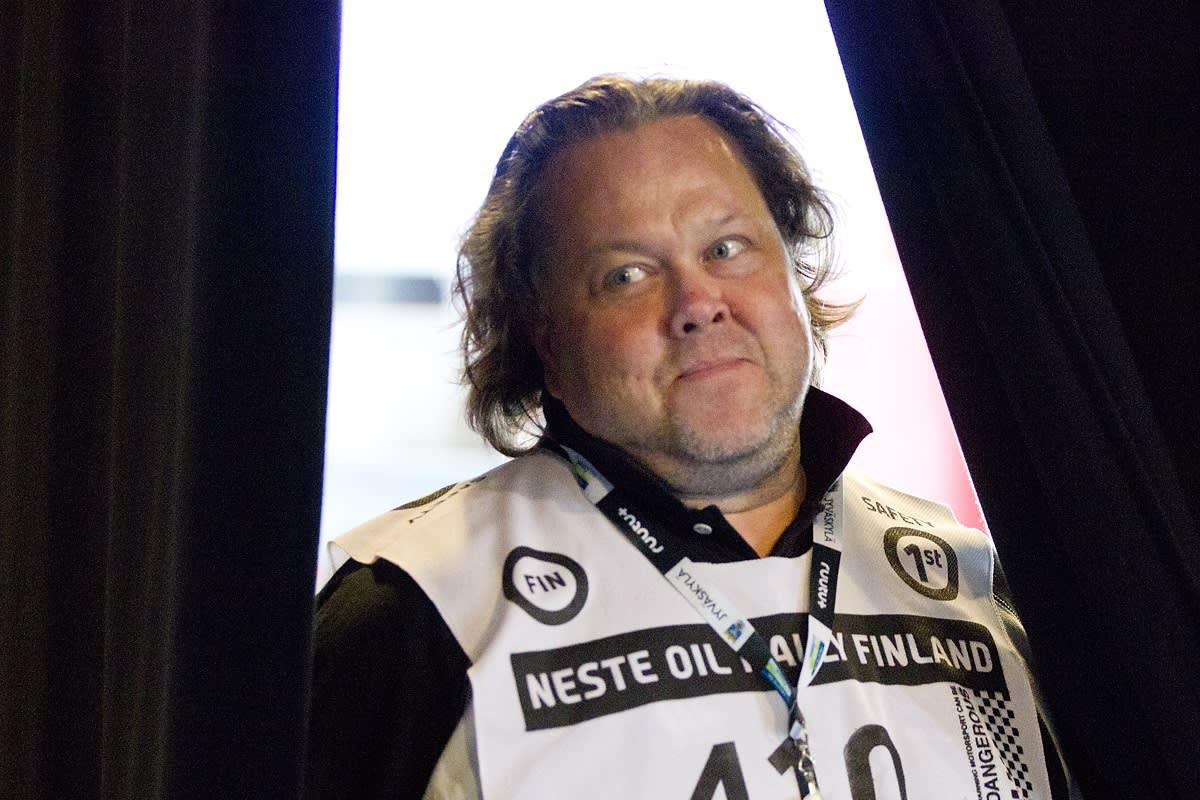 Jussii Lindroos työskentelee Ralliradiossa yhdeksättä kertaa.