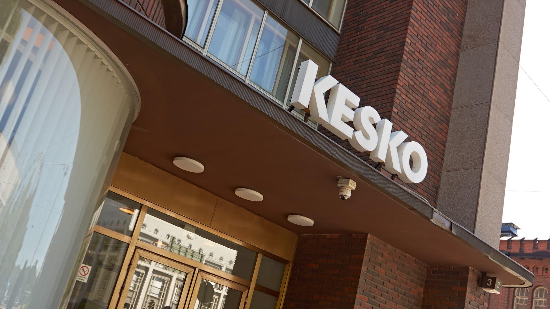Keskon pääkonttori Helsingissä