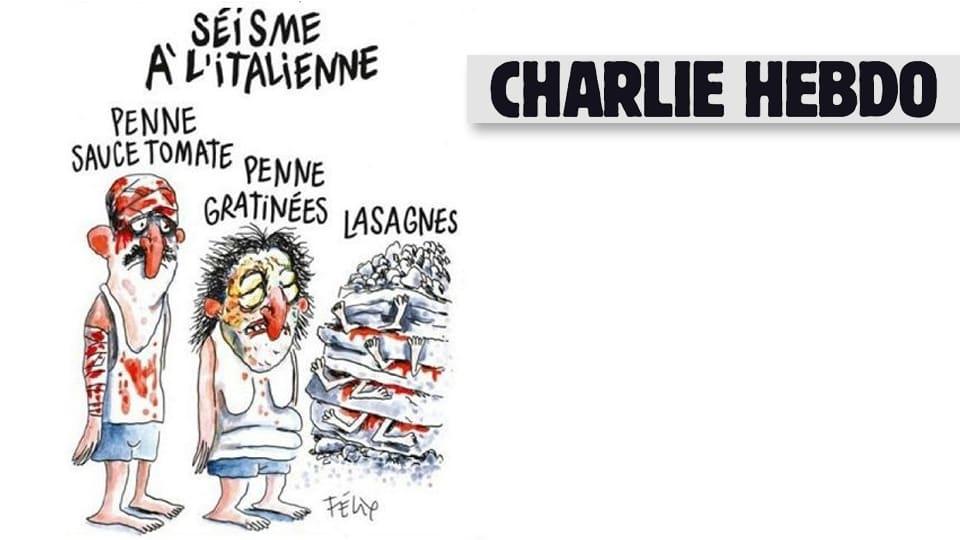 Charlie Hebdo-lehden pilakuva.