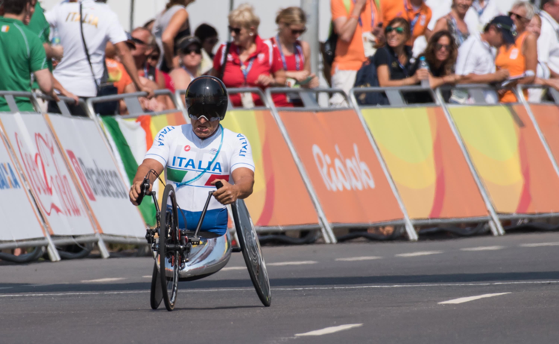 Alex Zanardi Rion paralympialaisissa