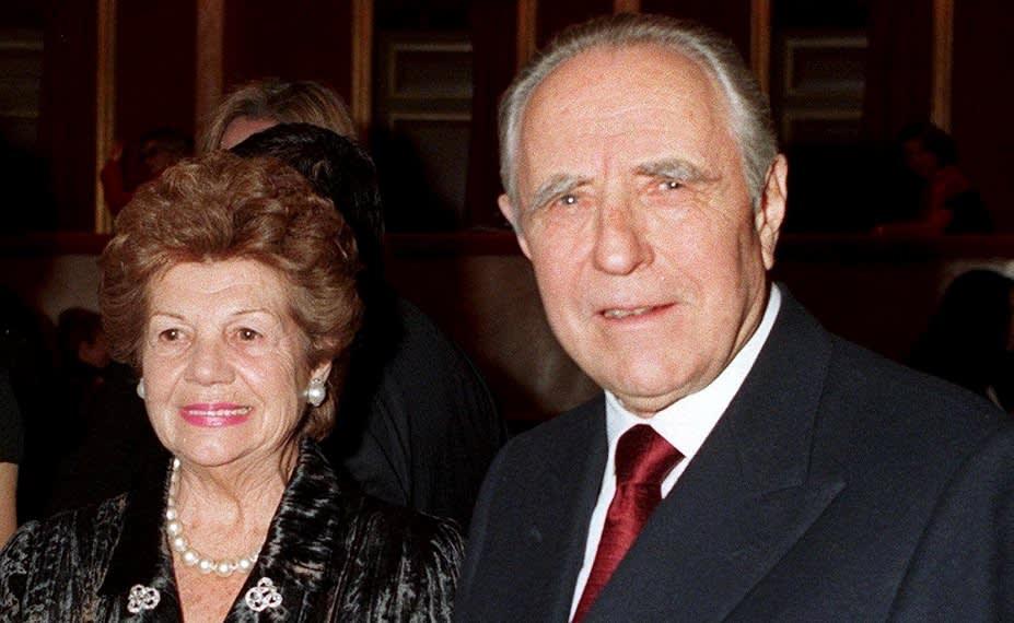 Carlo Azelio Ciampi ja Franca Campi