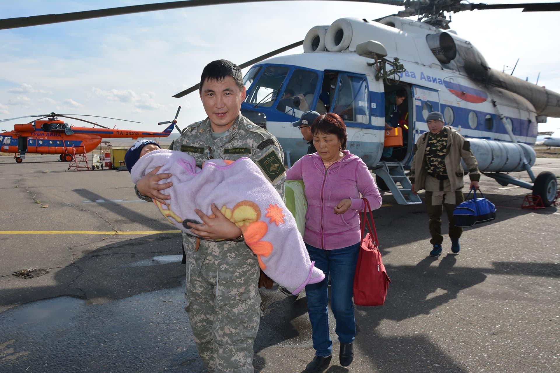 Kolmevuotias Tserin Dopchut pelastettiin kolme päivää kestäneiden etsintöjen jälkeen.