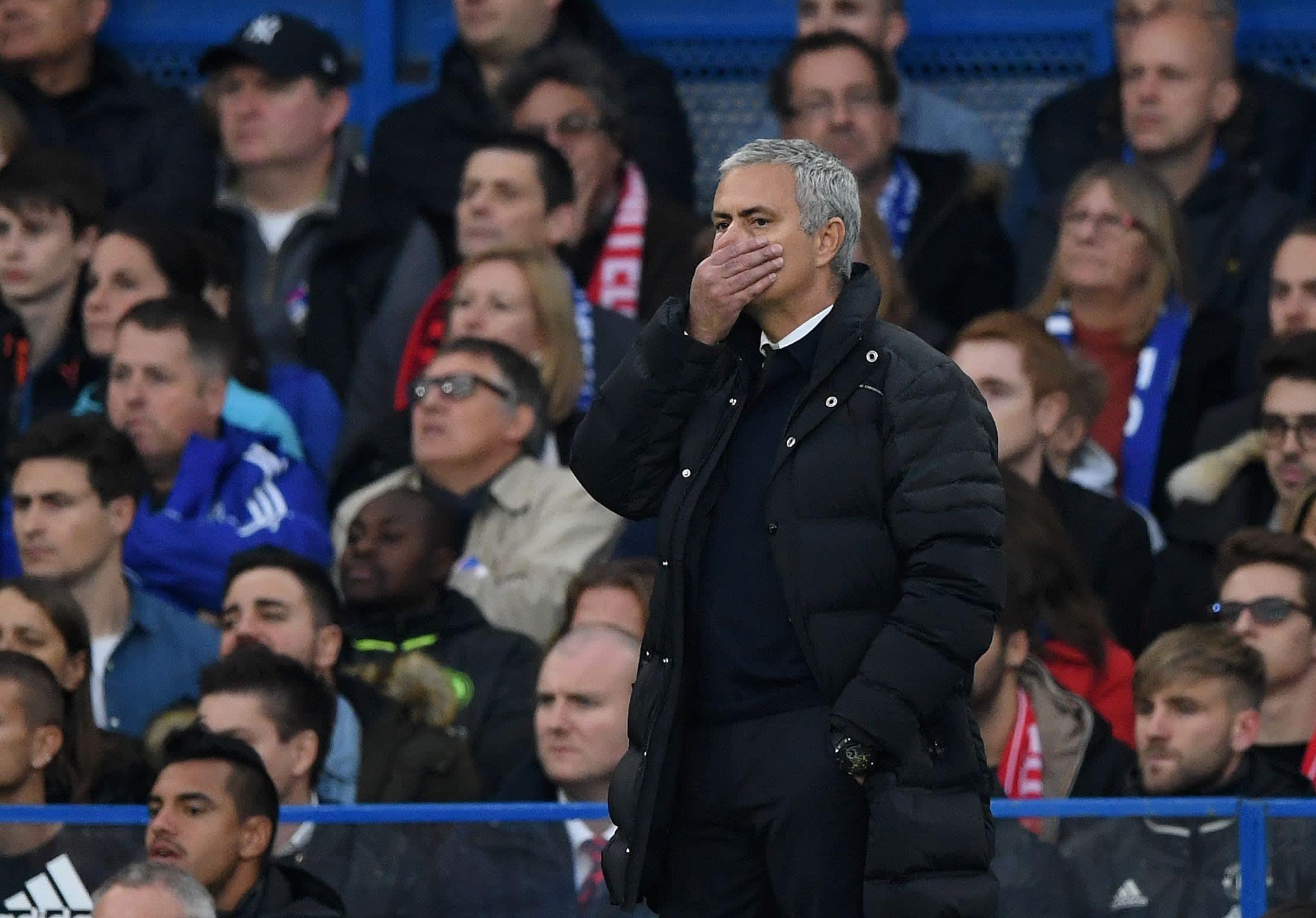 United-manageri Jose Mourinhon paluuottelusta Stamford Bridgelle tuli iikimuistoinen.