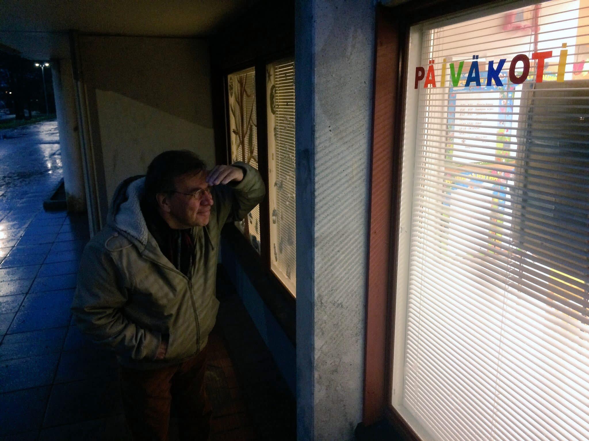 Harri Saksala muistaa hyvin Itä-Pasilassa sijainneen Love Recordsin toimiston. Nykyisin toimitila on suomalais-venäläisen päiväkodin käytössä.