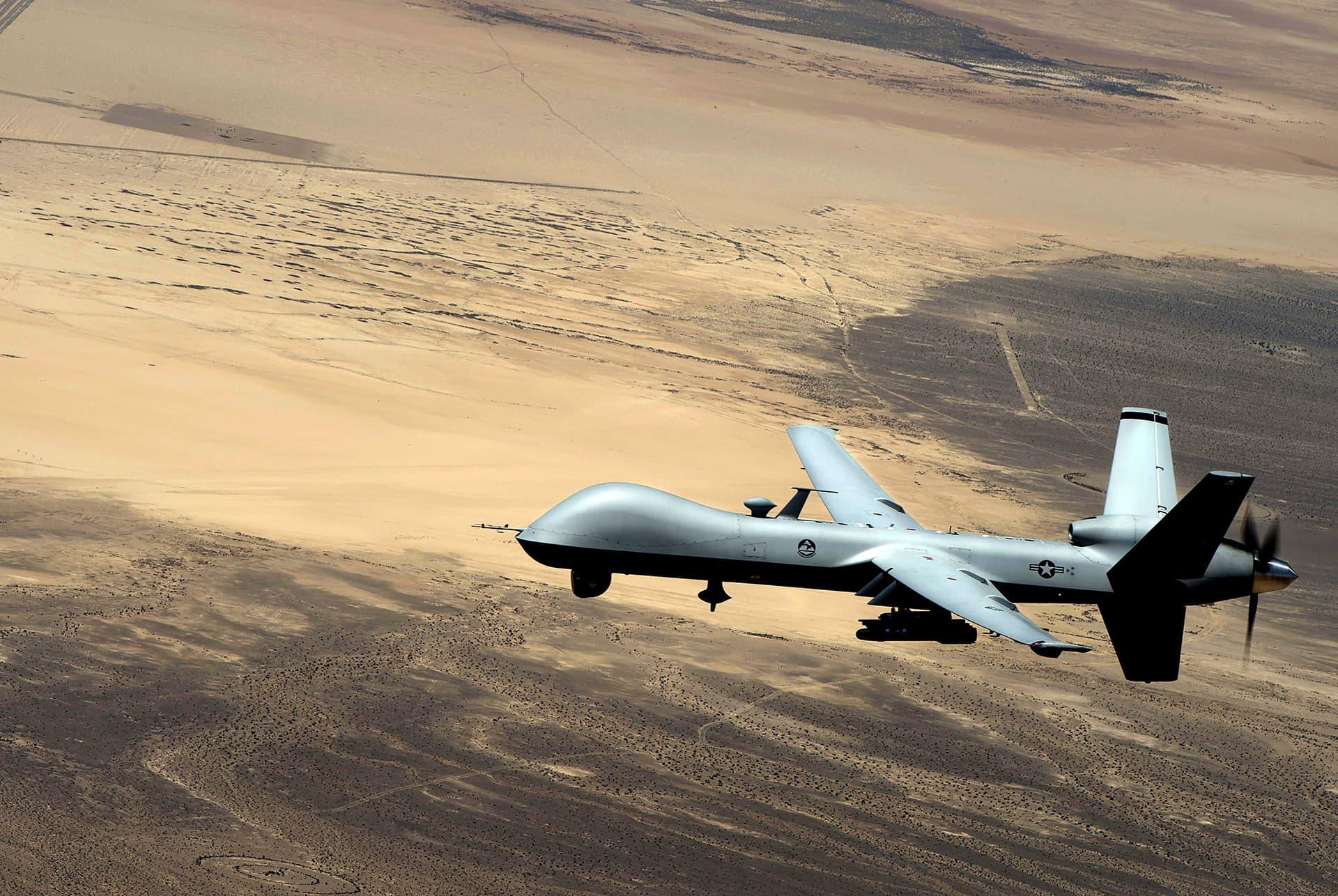 Miehittämätön lennokki MQ-9 Reaper.
