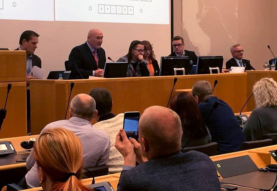 Oulun kaupunginvaltuuston kokous 28.11.2016