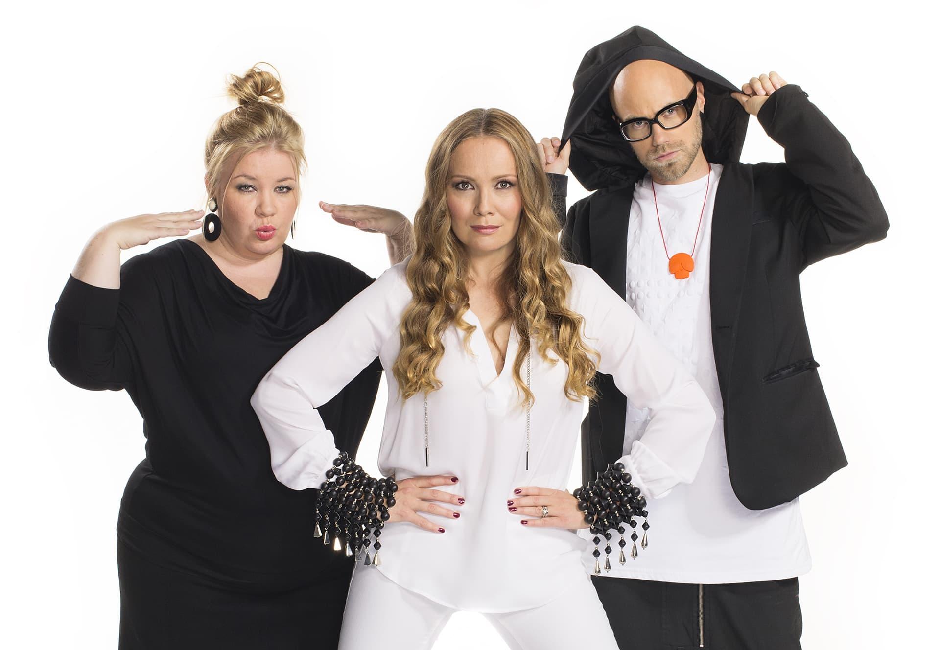 Jenny Lehtinen, Marja Hintikka ja Heikki Soini.