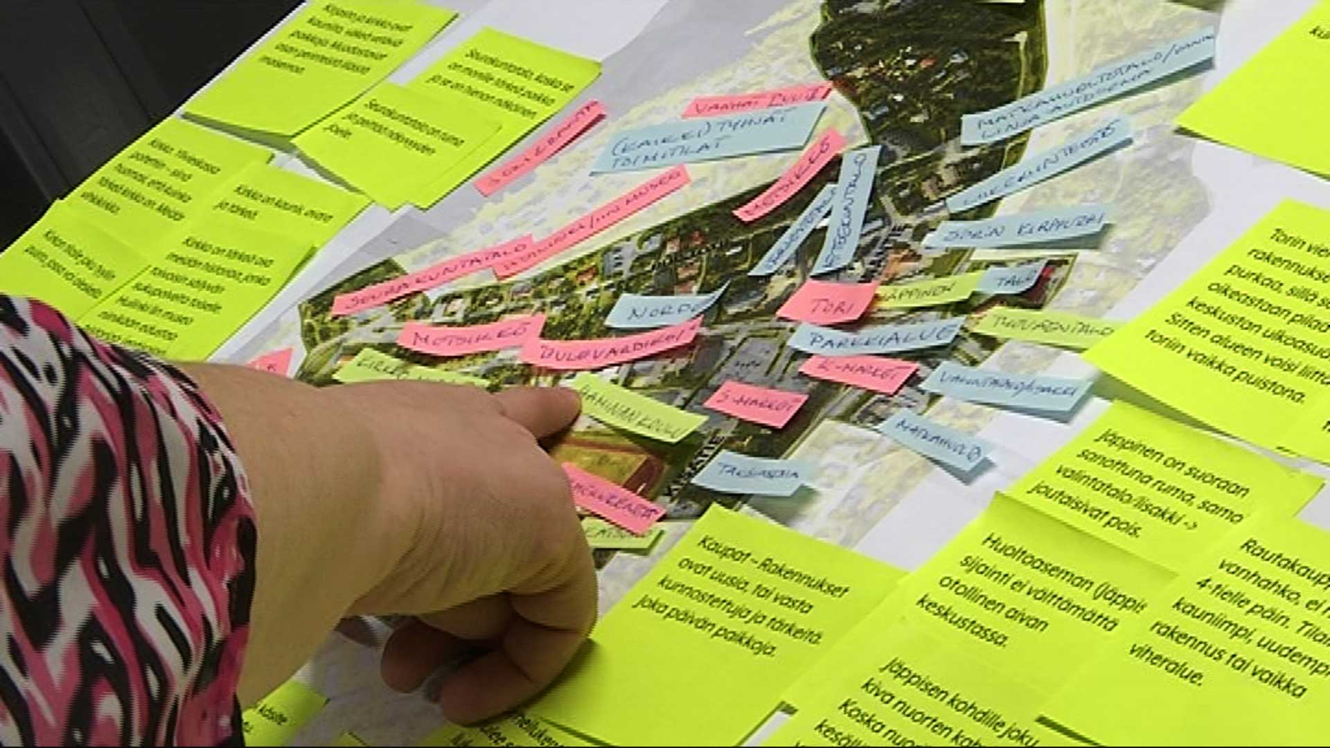 Kaavatyön pohjaksi kuntalaisilta on koottu paljon ehdotuksia ja mielipiteitä muun muassa sosiaalisen median ja kuntalehden kyselyn sekä haastattelujen avulla.