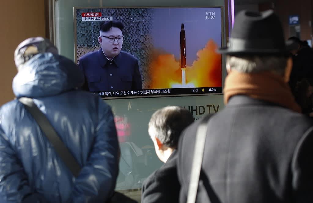 korean johtaja televisiossa