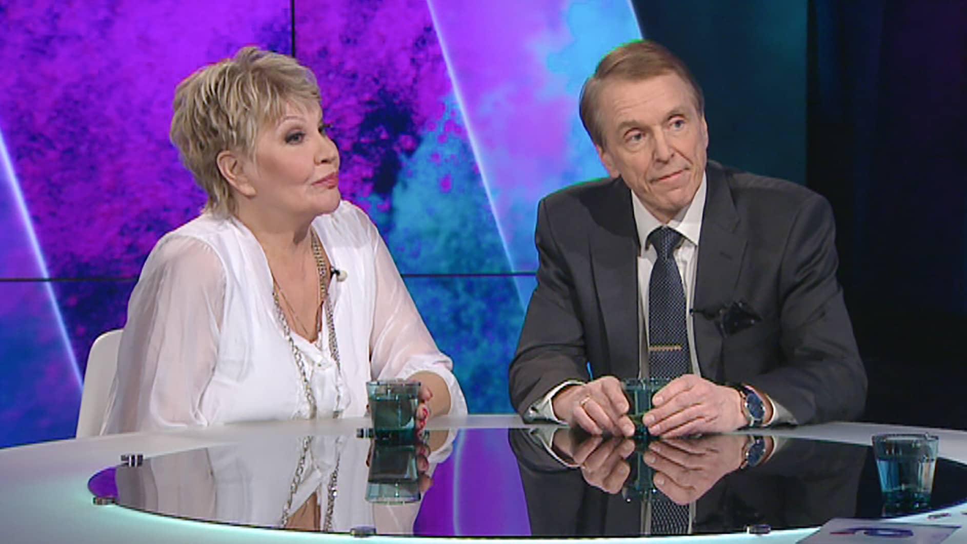 Hannele Lauri ja Kari Reijola.