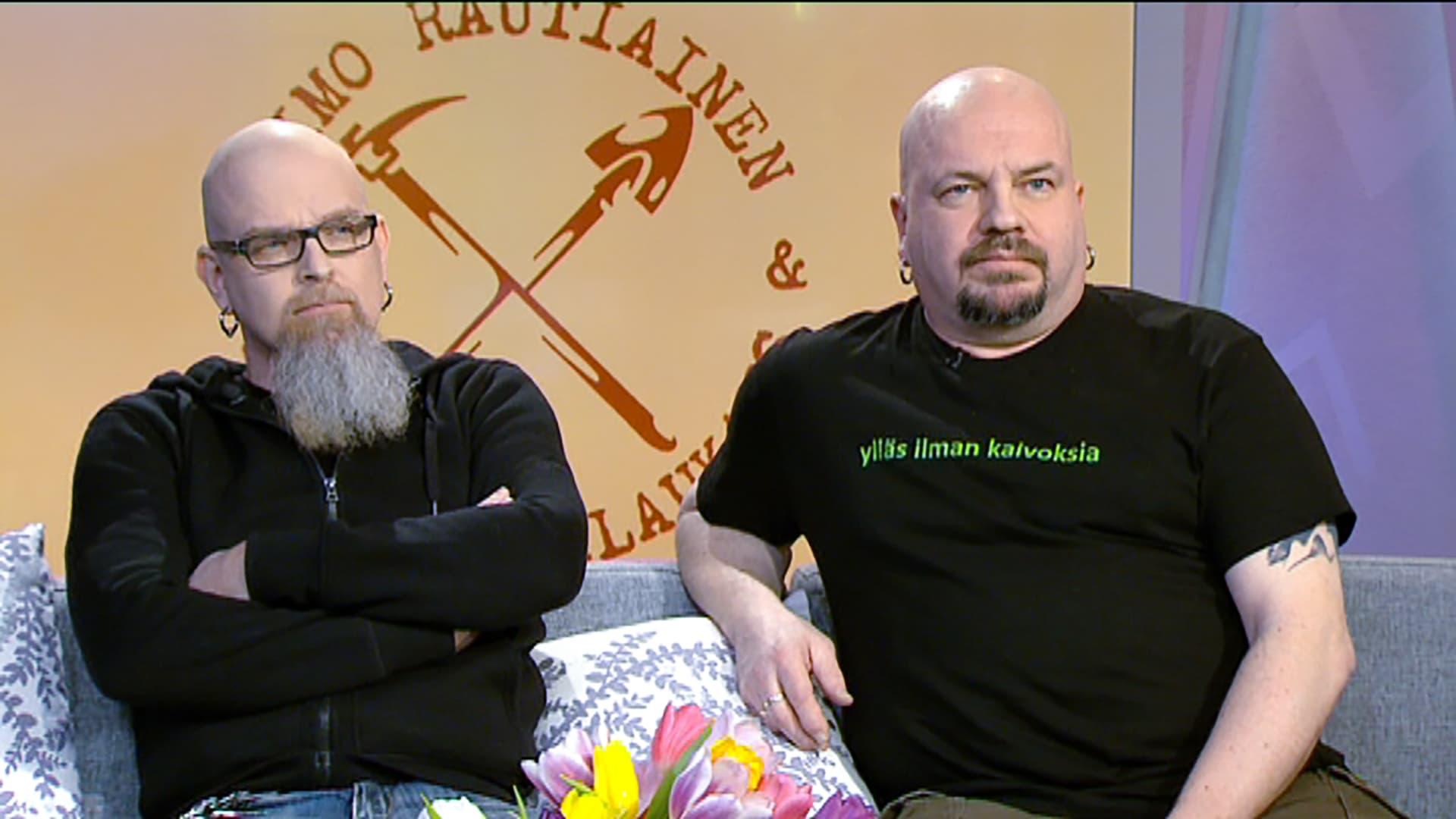 Jari Huttunen ja Timo Rautiainen, Trio Niskalaukaus.