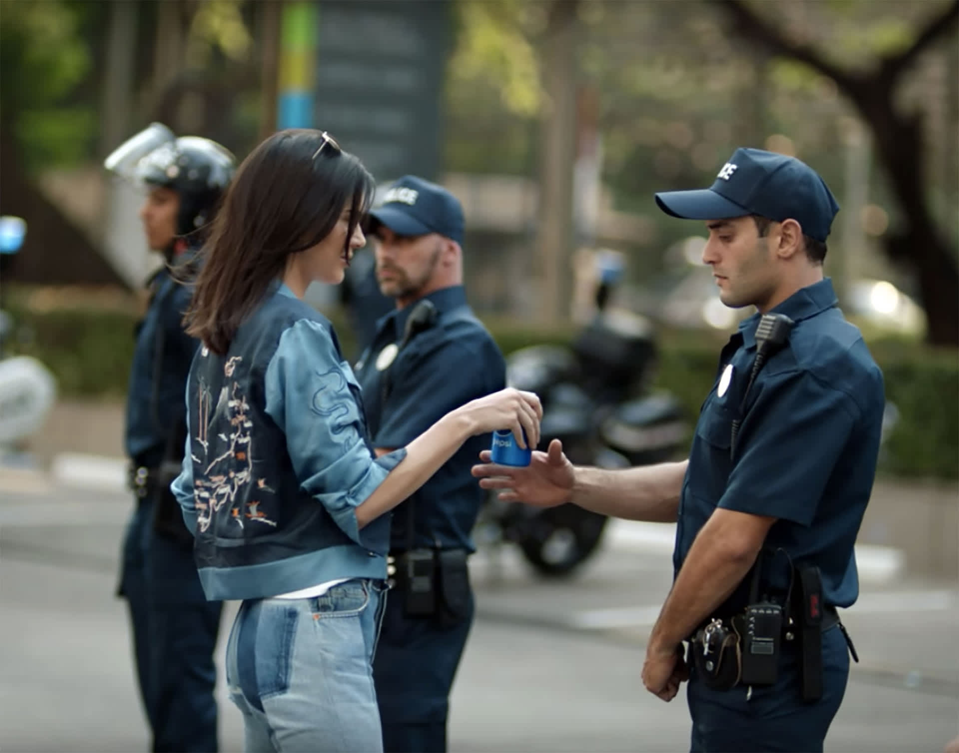 Kendall Jenner Pepsi mainos