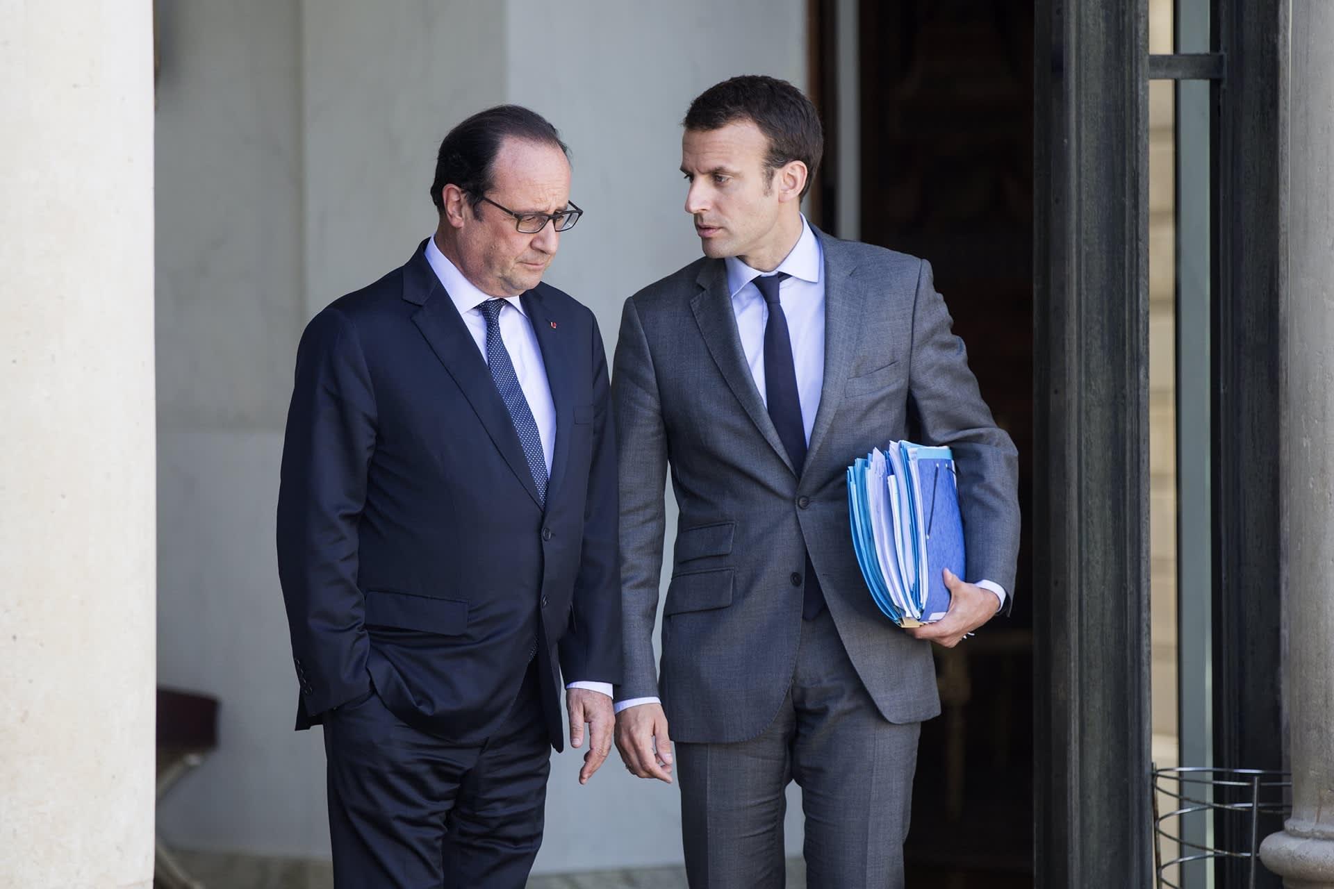 Hollande ja Macron