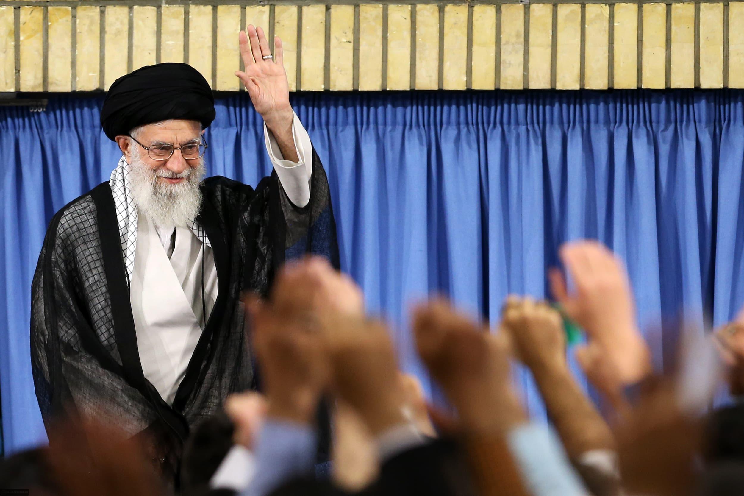 Iranin korkein johtaja ajatollah Ali Khamenei.