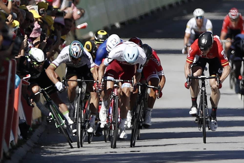 Peter Saganin (toinen vasemmalta) toiminta neljännellä etapilla johti hylkäykseen.