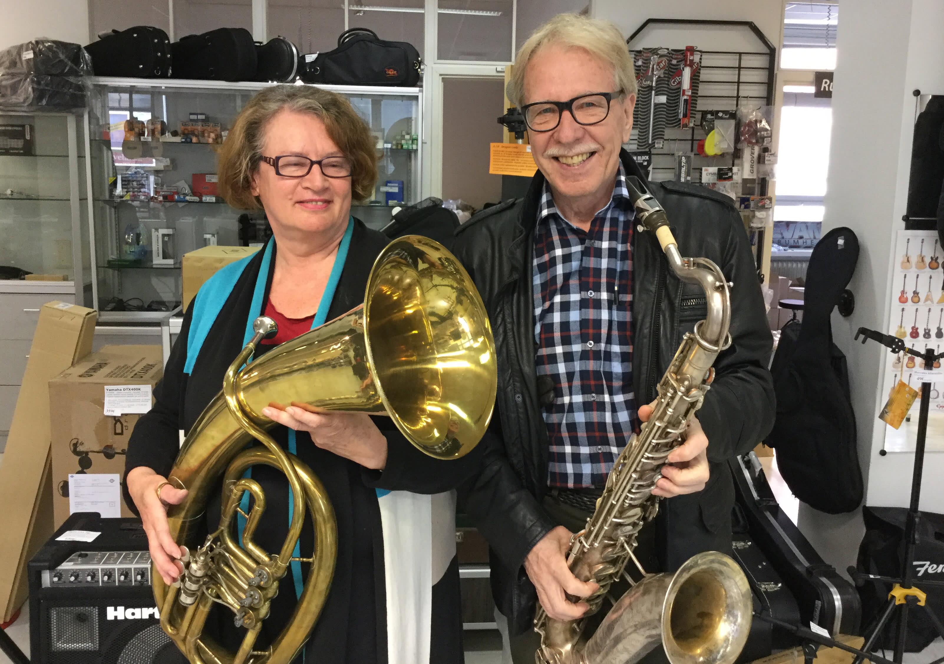Heidi Uotinen ja Johannes Liikanen