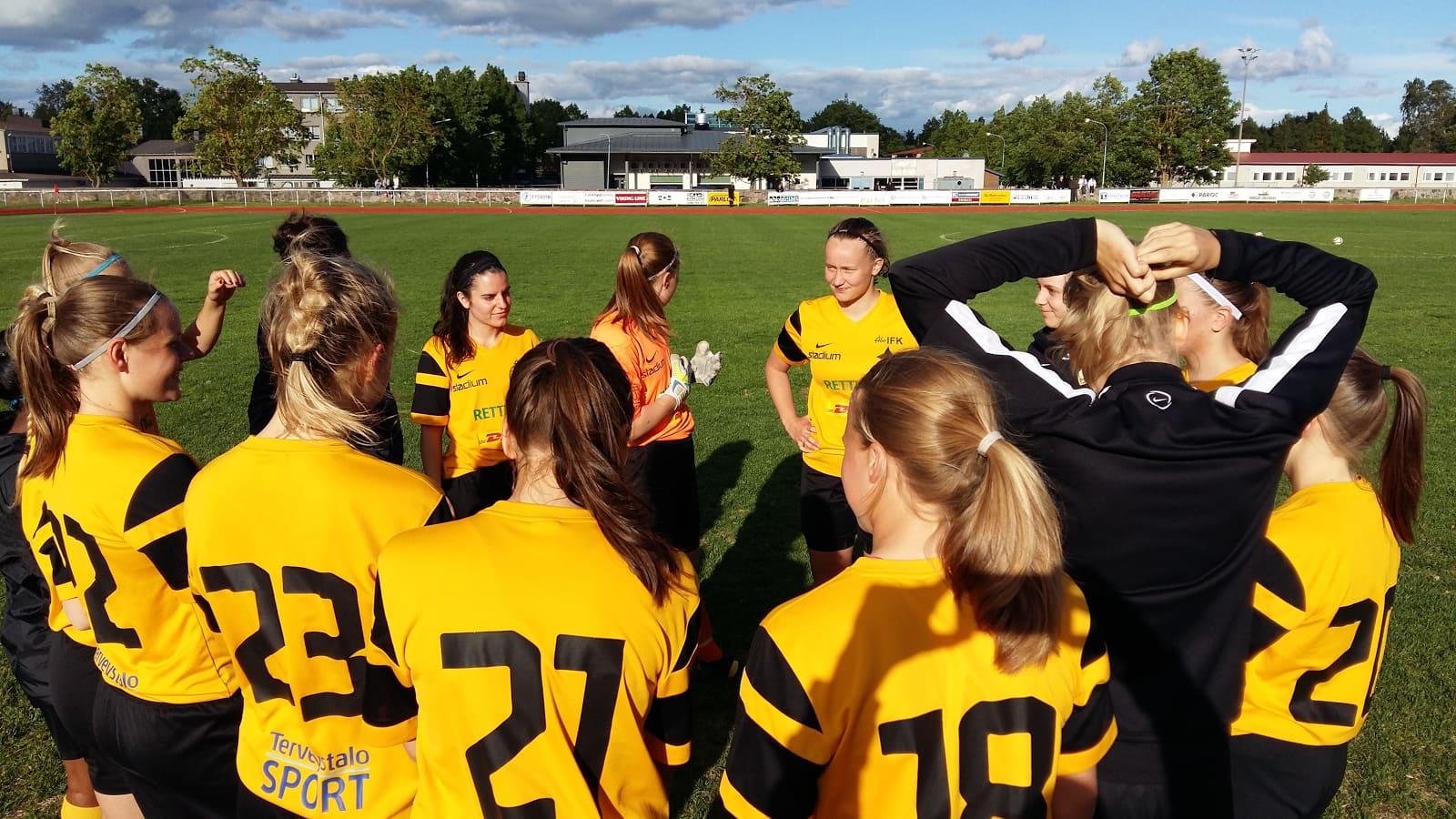 Åbo IFK:n jalkapalloiljoita.