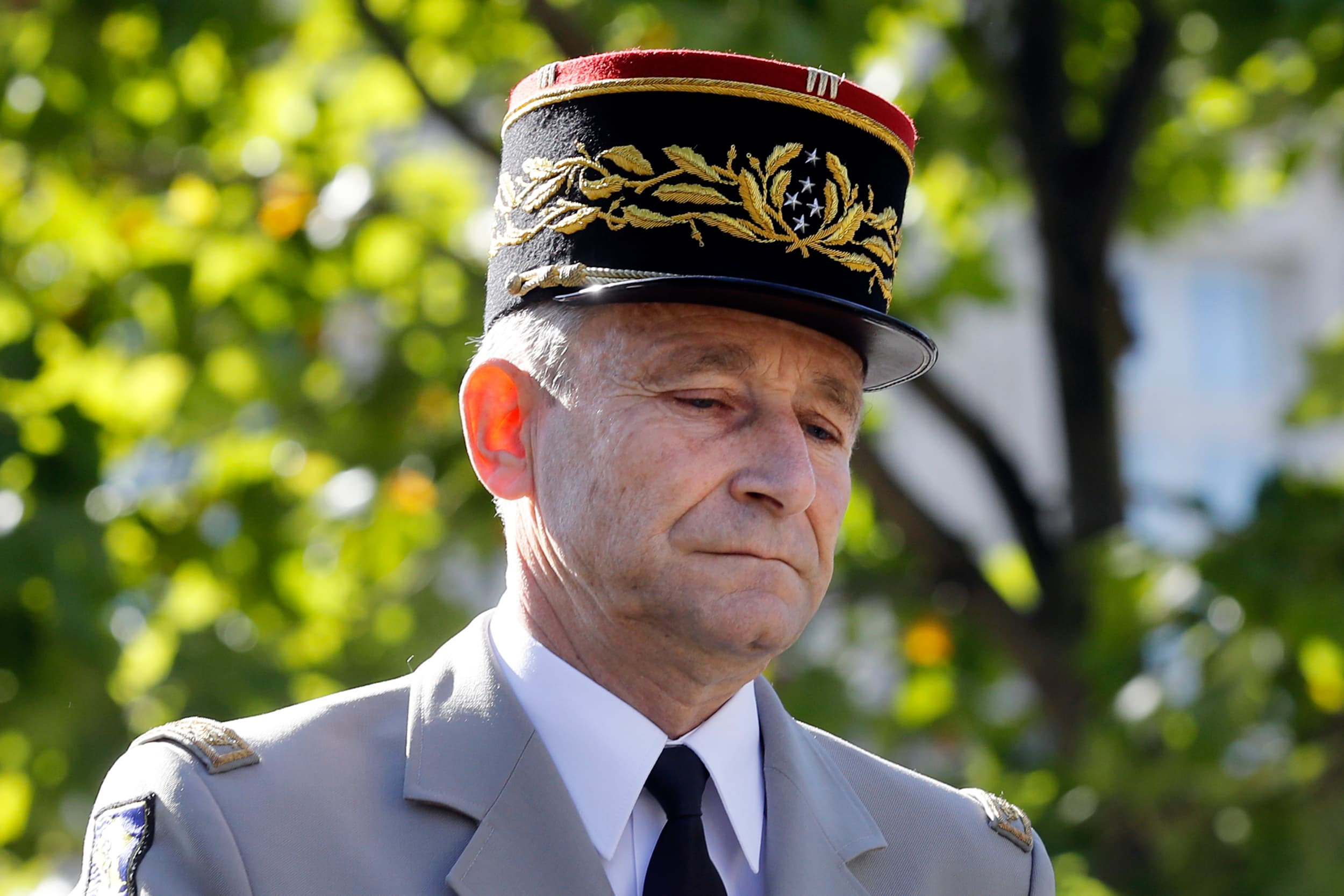 Ranskan armeijan esikuntapäällikkö, kenraali Pierre de Villiers.