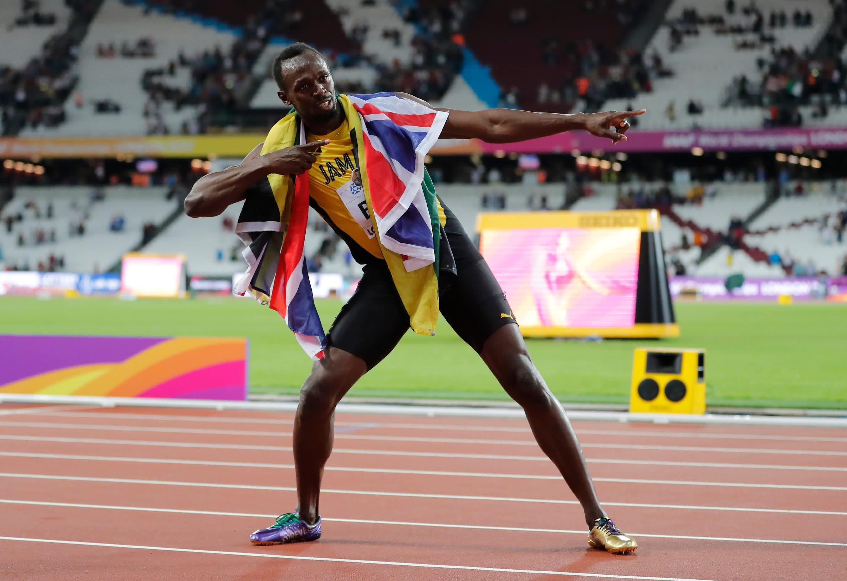 Usain Bolt päätti henkilökohtaiset arvokisajuoksut MM-pronssiin
