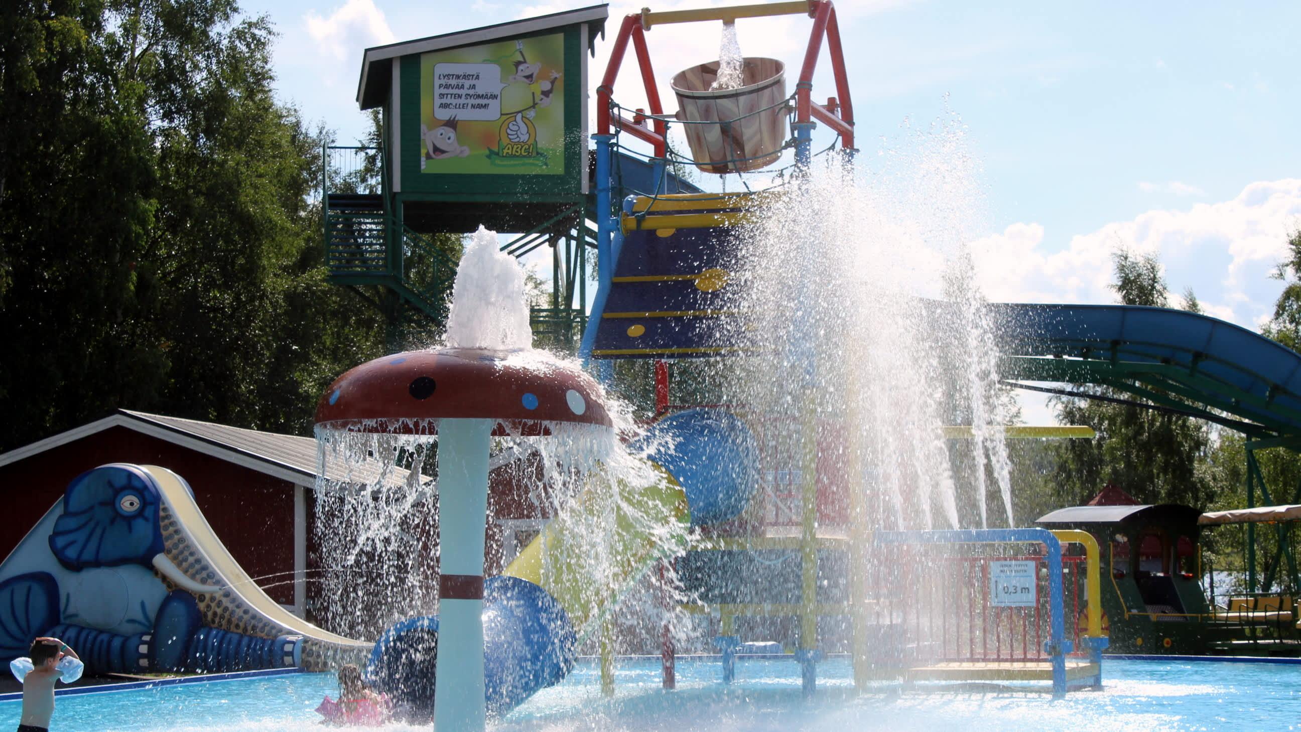 Lasten uima-allas Visulahdessa