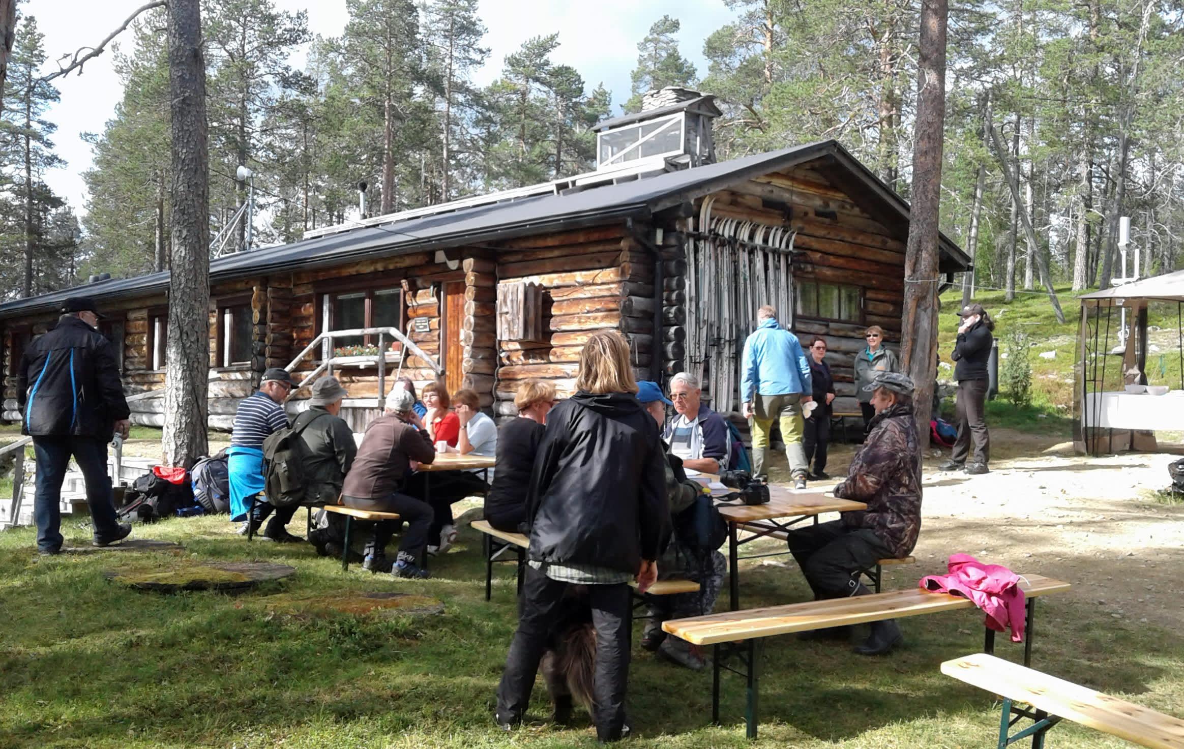Värriön tutkimusasema, avointen ovien päivä elokuussa 2017.