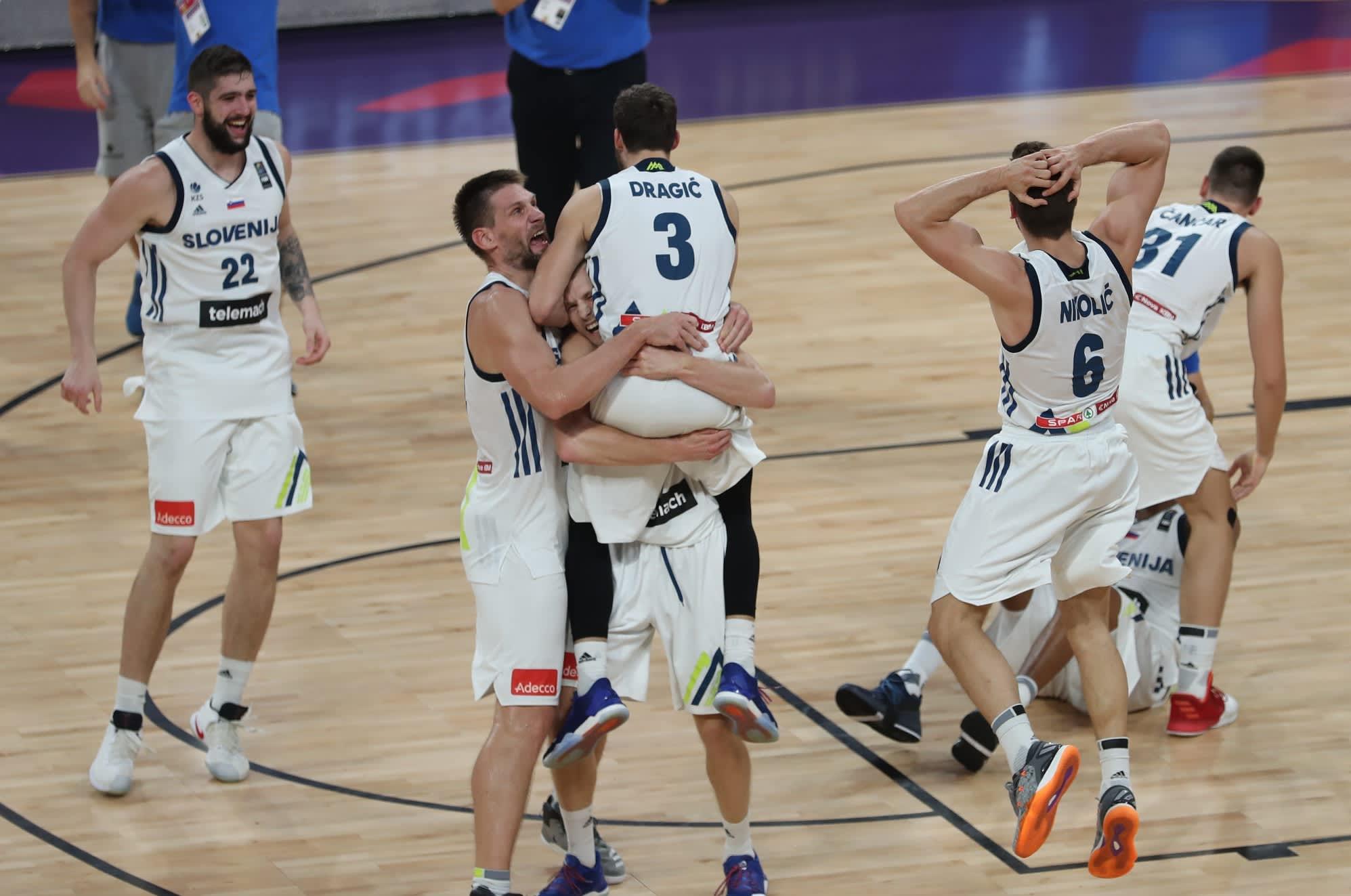 Slovenia juhlii EM-kultaa