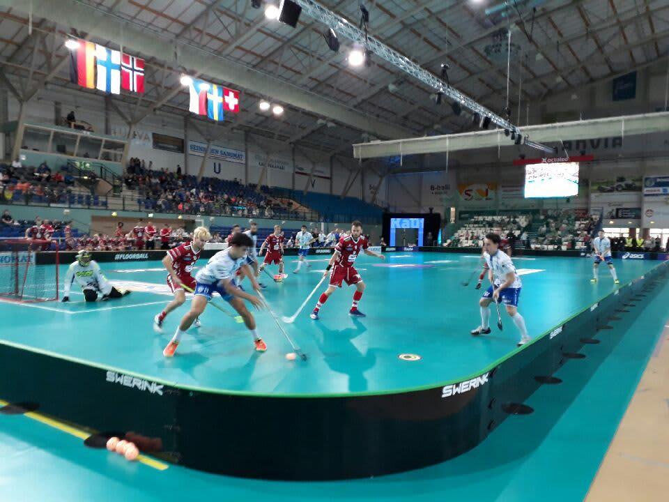 Tsekki ja Saksa kohtasivat Champions Cupissa Seinäjoella.