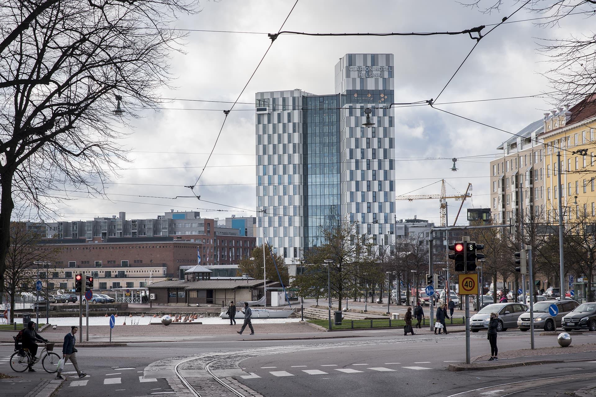 Calrion hotelli Helsinki.